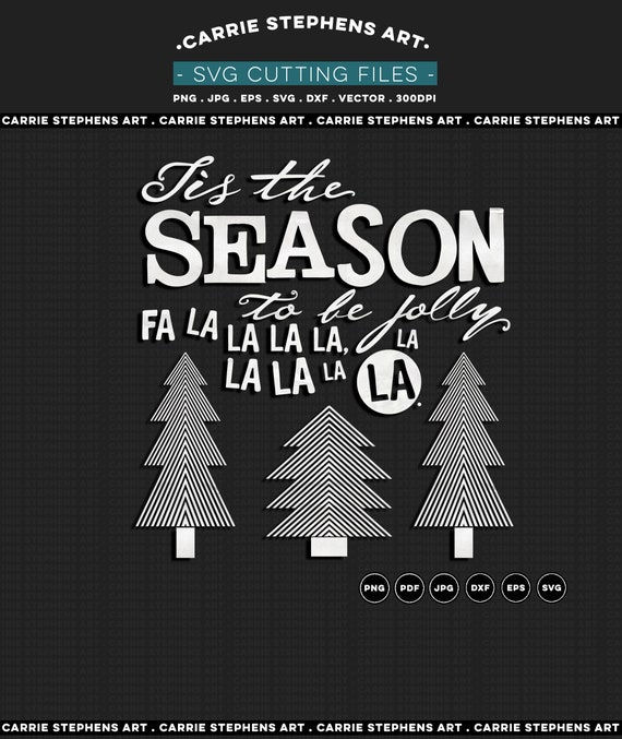 32+ Christmas Svg Cutting File, Tis' The Season Svg, Cricut Cut File, Holiday Svg, Silhouette Cut File Crafter Files