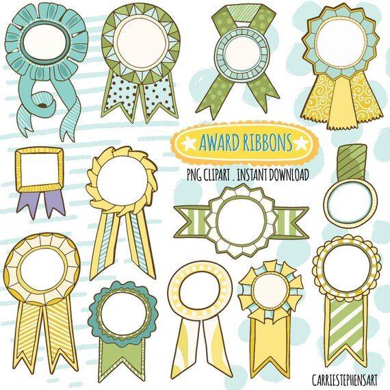 photo relating to Printable Ribbon named Award Ribbon ClipArt Graphics, Yellow Eco-friendly Champion Label
