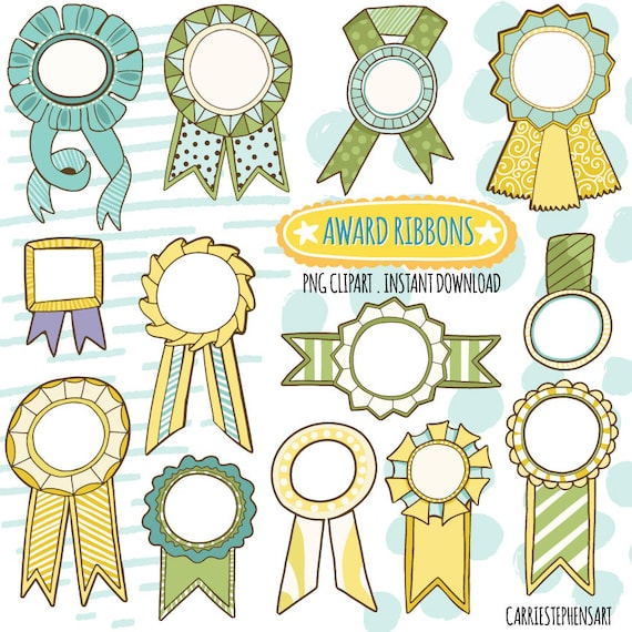 photo relating to Printable Ribbon named Award Ribbon ClipArt Graphics, Yellow Environmentally friendly Champion Label