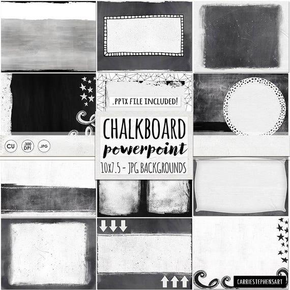 Schwarz und weiß-Powerpoint-Präsentation-Vorlage PPTx