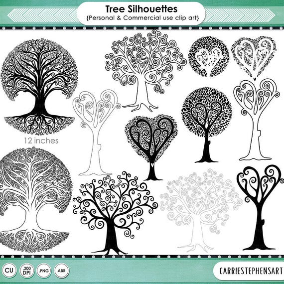 Free Family Tree Clipart Black And White, Download Free Clip Art, Free Clip  Art on Clipart Library