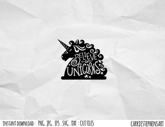 Svg Unicorn Cutting File Eps Png Pdf Dxf For Silhouette Cricut Magical Unicorn Birthday Diy Digital Download Unicorn Face Svg By Carriestephensart Catch My Party
