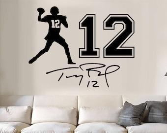 Lebron James jumpman jersey number auto Vinyl Wall Decal//Words//Sticker 3pc set