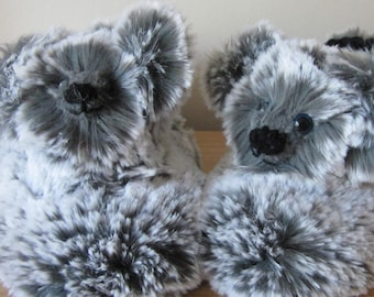 Koala Bear Slipper Made to Measure Adult Slipper Gift for Mom Mums Days Gift Gift for Grandmother Fathers Day Present Unisex Adult Slipper