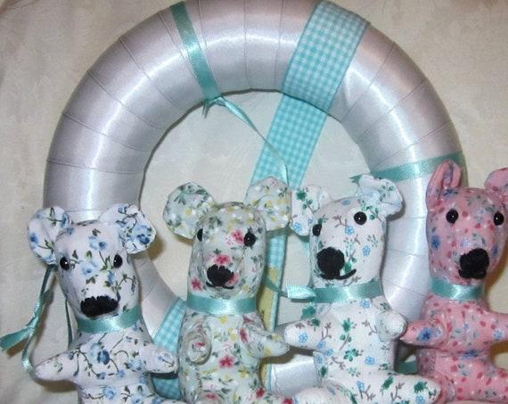 Nursery Baby Mobile Fantasy Bear Mobile Bear Toy Mobile  Kids Room Decor Shower Present New Baby Gift Adoption Present  Christening Present