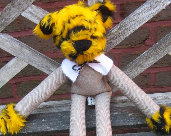 Long Legged Tiger Toys Fun Toy Presents Cuddly Toy Tiger Colourful Ornament Unisex Kids Presents Multi Colour Decor Item Unisex Kids Present