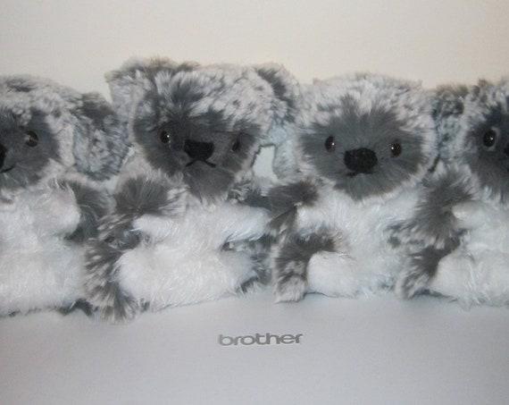 Baby Koala Plushy Small Toy Koala Bear Toys Ornament for Nursery Shower Gift Item Tactile Fun Delightful Ornamental Grey and White Baby Toys