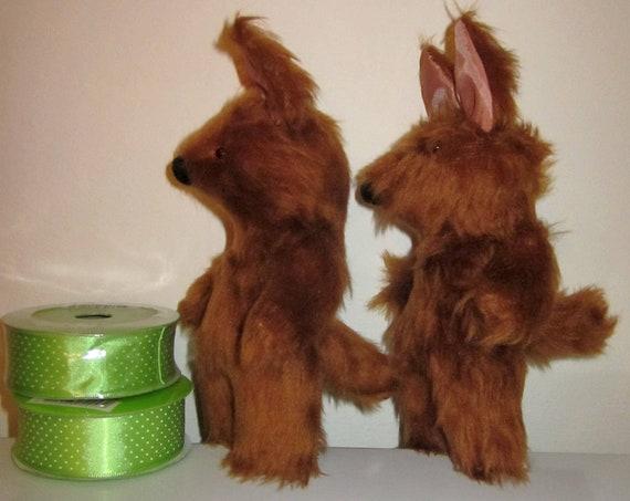 Chestnut Plush Fox Baby Toys Foxy Pram or Cot Baby Toys Ornamental Shower Presents Nursery Mobile Decorative Toys Fox Plush Decorative Toys