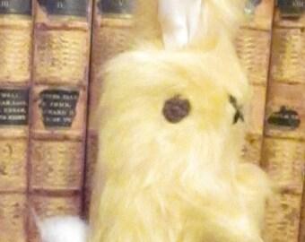 Yellow Plush Rabbit Baby Ornamental Toys Treasure Rabbits Christening Gifts Decorative Bedroom Toys Basket Fillers Nursery Mobile Rabbit Toy