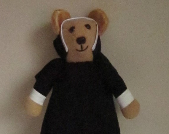 Sister Bear Fund Raiser Novelty Collectible Bear Ornamental Decorative Toy In COLDHAMCUDDLIES Clerical Bear Collection Fun Gift for Everyone