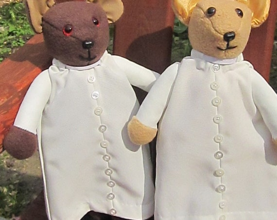 Missionary Bears  Ornamental Toys In COLDHAMCUDDLIES Clerical Bear Collection Novelty Bear Fund Raising Toys Made To Order Fun Novelty Bears