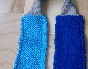 Sale! Fisherman's Necktie hand knit tie ascot