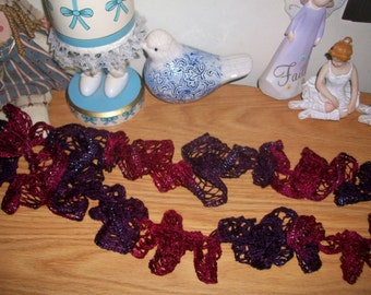 Sale! Mountain Berry ruffle scarf for women and girls
