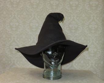 220f03f7069b2 Floppy Black Wizard Witch Hat
