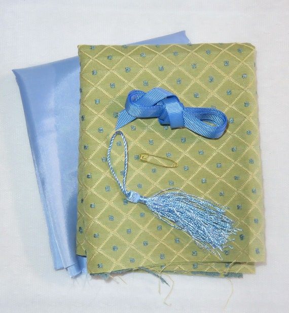 Green and Blue Regency Purse Reticule Kit
