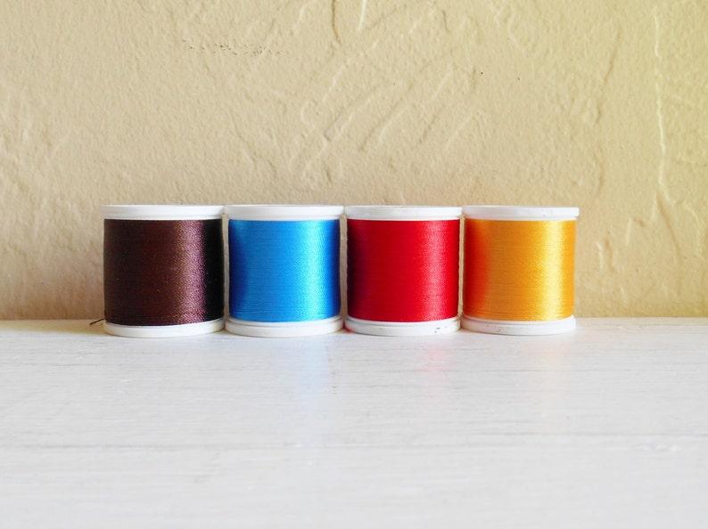 Set Of Four Madeira  Embroidery Thread