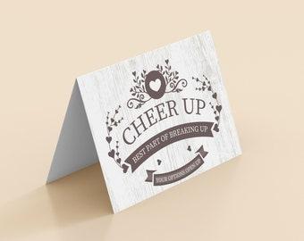 Break up Greeting Cards