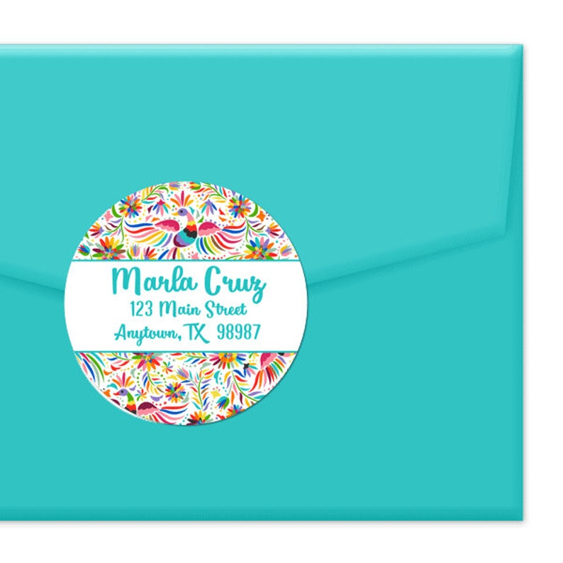 Envelopes Stickers for Craft Gift Wrap Cards Puffin Oval Seal Labels