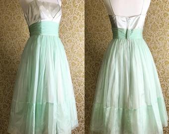 Vintage Seafoam Dress