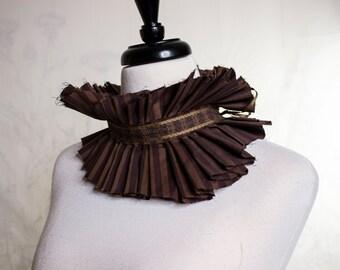 Brown Stripe Collar