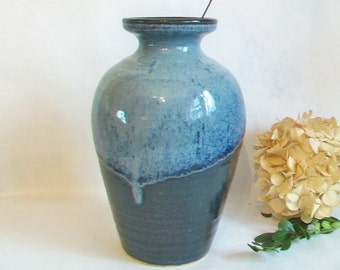 Vase - Slate, Cream -