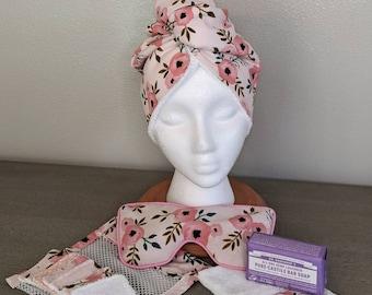 Spa Gift Set, Pink Floral