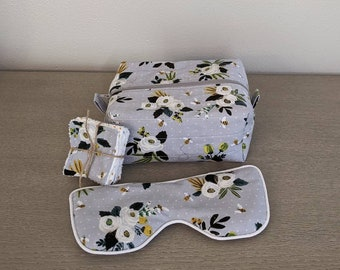 Spa Gift Set, Gray Bee Floral