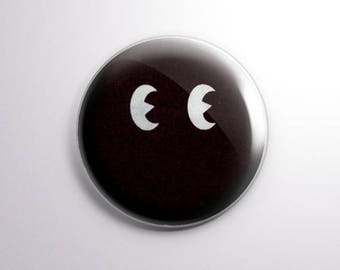 Peepers. Pinback Button [1.5 Inch]