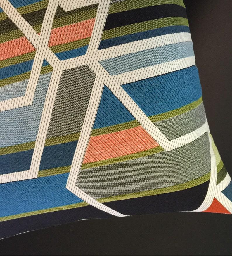 Sarah Morris AGENCY Fabric Pillow Cover  Mid Century Modern  image 0