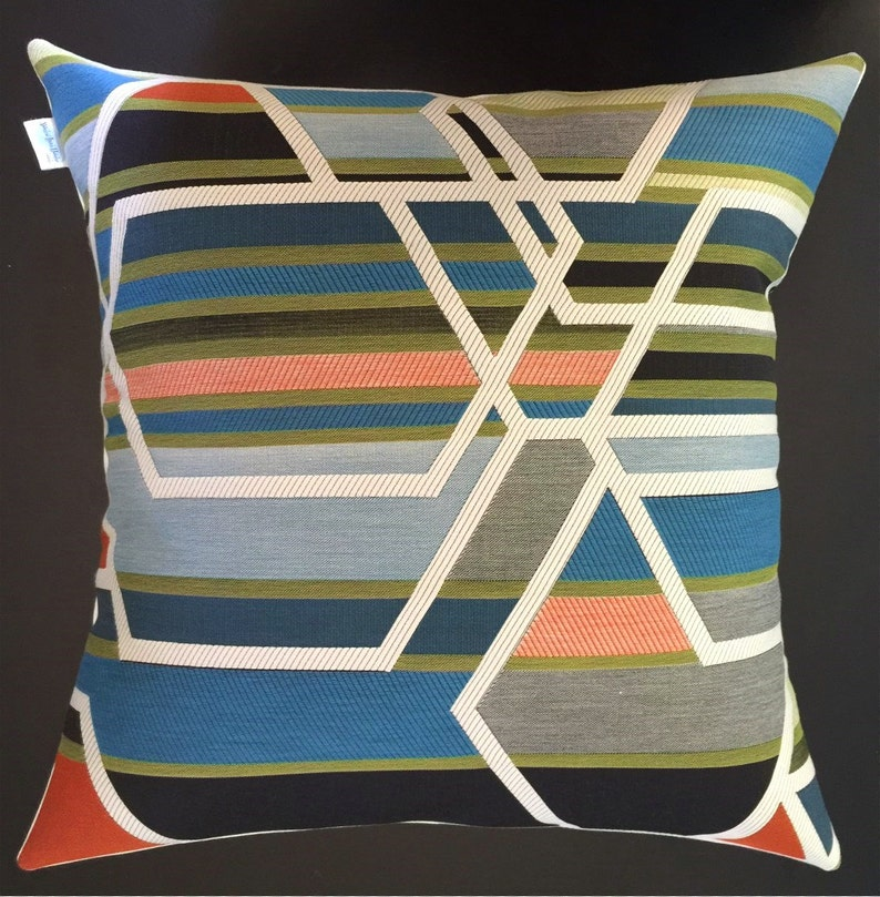 Sarah Morris AGENCY Fabric Pillow Cover  Mid Century Modern  image 0
