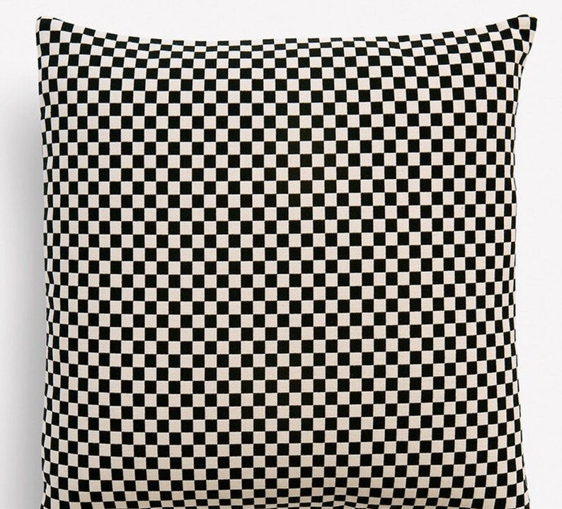 Checker MidCentury Modern Pillow Cover  Alexander Girard image 0