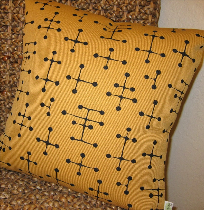 Eames Retro Throw Pillow Cover   Maharam 1947 Small Dot image 0