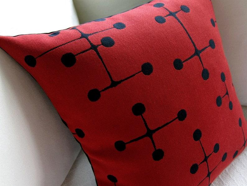 Eames Mid Century Modern Pillow Cover  Maharam  Retro 1940s image 0