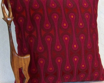 Design 9297 Magenta Josef Hoffmann  Pillow Cover - Mid Century Modern -  Maharam Fabric Cover - Many sizes available
