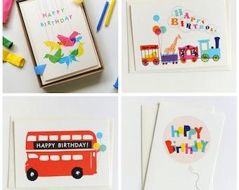 Ruka-Ruka Classics Birthday Cards - 4 fabulous designs to choose from!