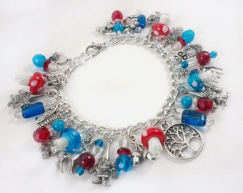 The World of the Gnomes Charm Bracelet