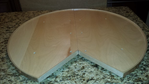 30 Inch Lazy Susan For Lower Cabinet Installs On Existing Etsy