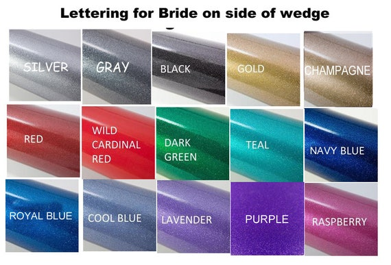 or Ivory White Flops own Sandals Mrs Bride Design your lettering Name Flip Bridal last silvery Wedge qnOC44
