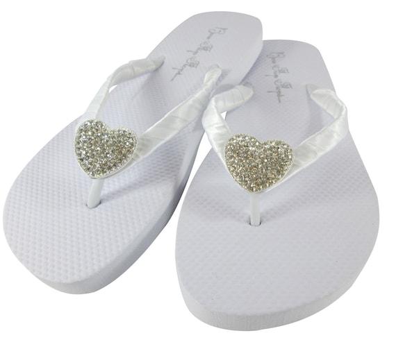 Flip Sandals Flat Ivory Lace White Vintage Flops Flop Wedding Heel Flip Bridal Bride Bridesmaid 5w6zYxqfn