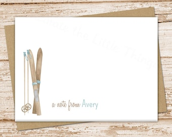 winter stationery etsy