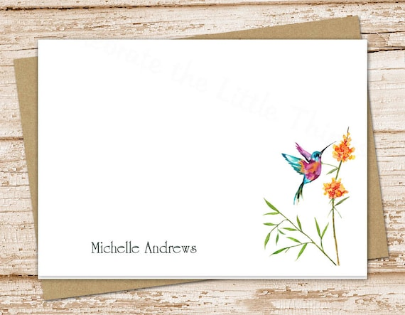 Watercolor Garden Note Cards Stationery Set Custom Floral Note Card Set Stationary Flat Note Cards Red Calla Lily Notes Letter Cards