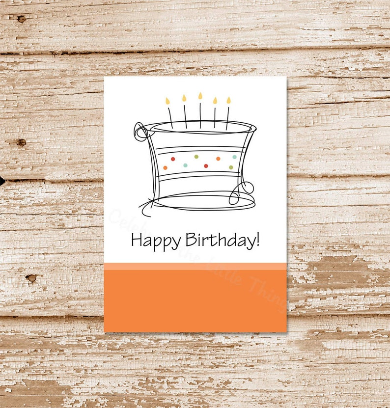 PRINTABLE Happy Birthday Gift Tags Stickers Labels Favor