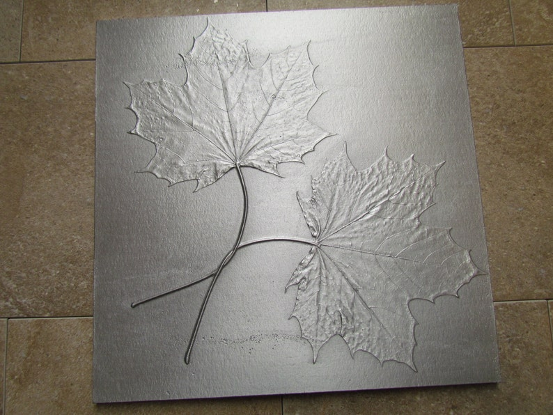 Wedding Knot Tile Norway Maple Leaf Unique Gift Recycled image 0