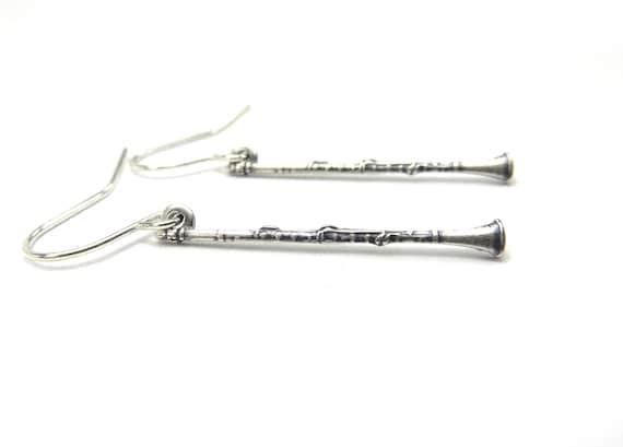 boucle d'oreille clarinette