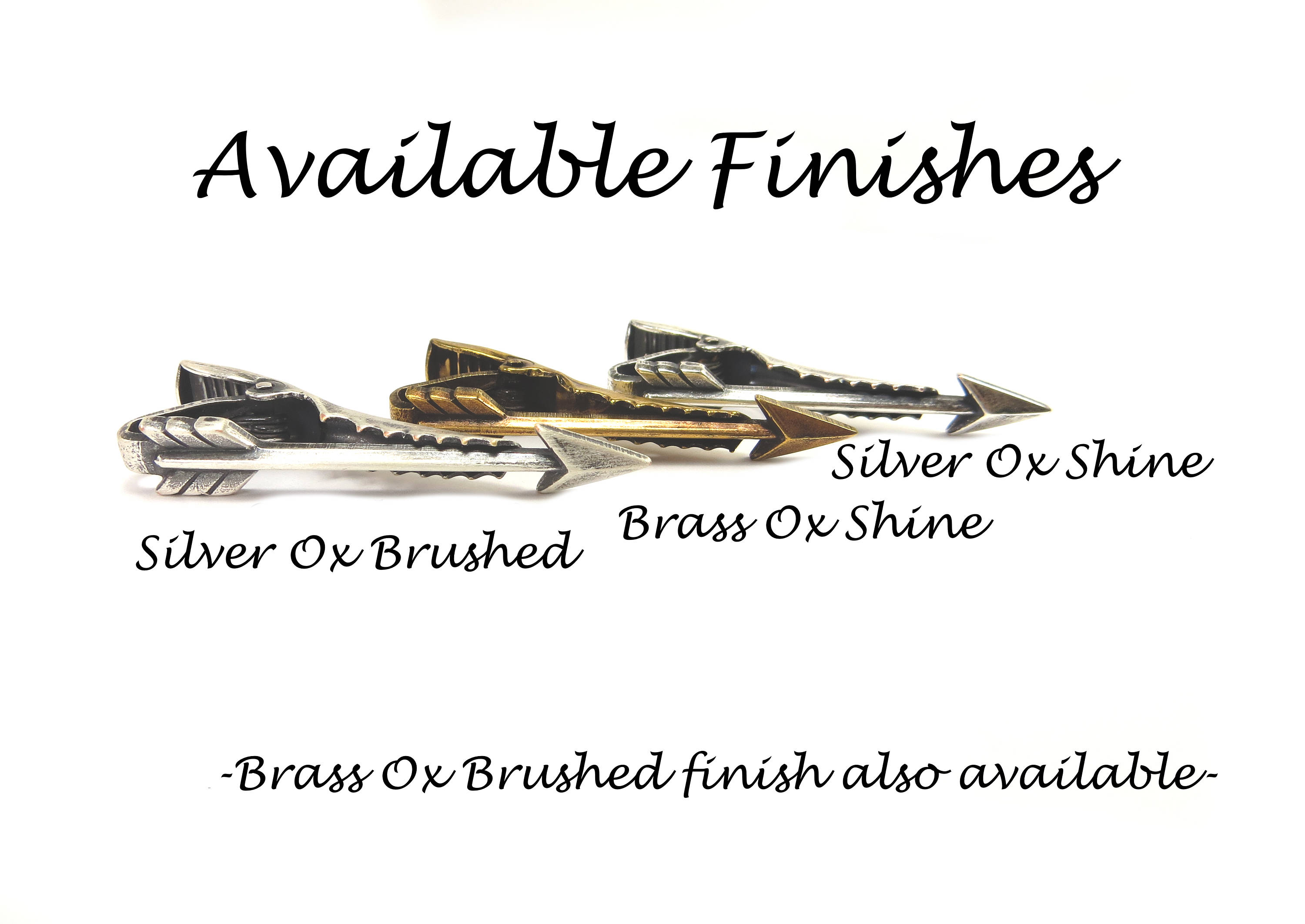 Arrow Tie Bar, Sterling Silver & Antiqued Brass Finishes, Gifts For Men, Gifts For Dad, Black Friday Sale, Cyber Monday Sale