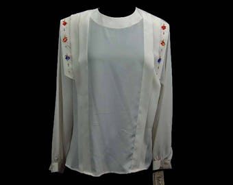 Notations Blouse Etsy