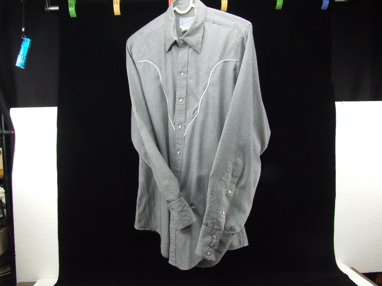 b862681686 Vintage Western Rockabilly Long Sleeve Men s Shirt