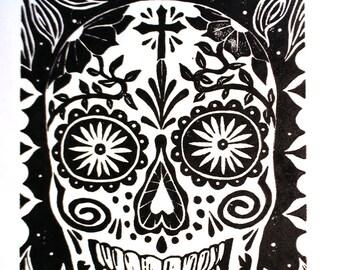 Calavera (sugar skull) dia de los muertos