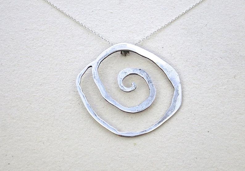 Statement Necklace Boho Jewelry Bohemian Necklace Handmade Necklace Elegant Necklace Silver Necklace Necklace Gift Classic Jewelry