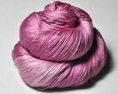 Barbie's forgotten dress OOAK - Silk Lace Yarn - Hand Dyed Yarn - handgefärbte Seide - Garn handgefärbt - DyeForYarn